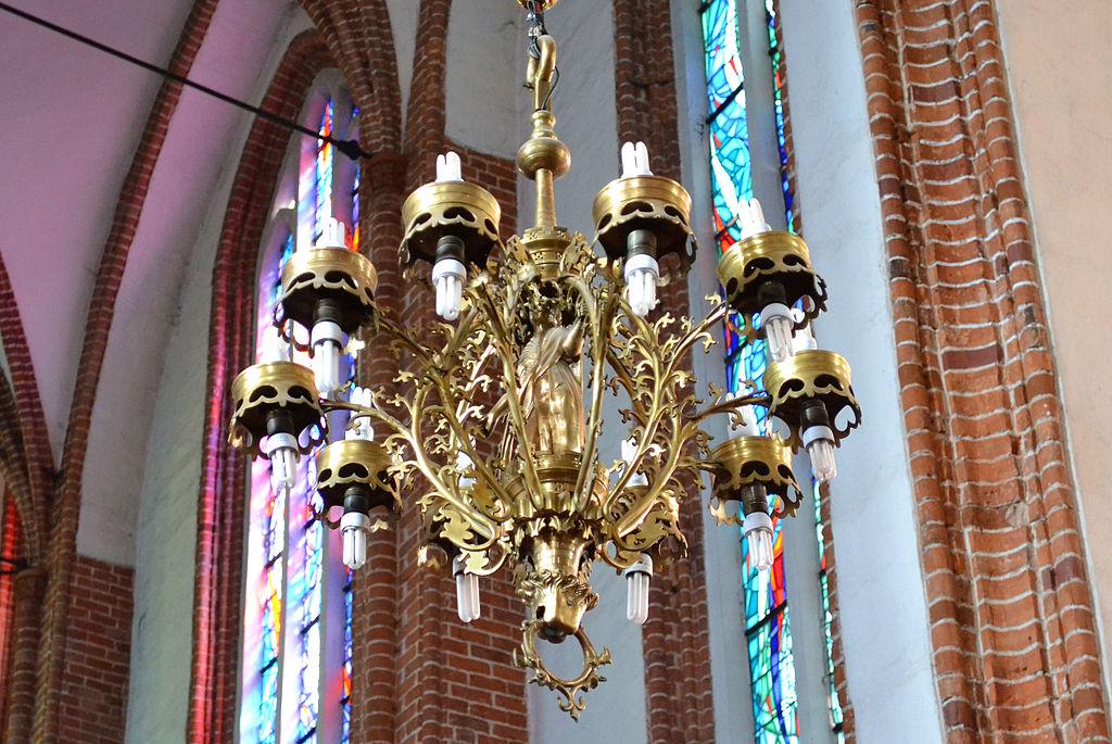 Korona Holkenów - co warto zobaczyć w Bazylice Mariackiej w Kołobrzegu